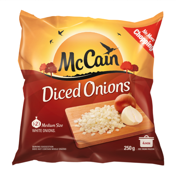 Diced Onion 250g